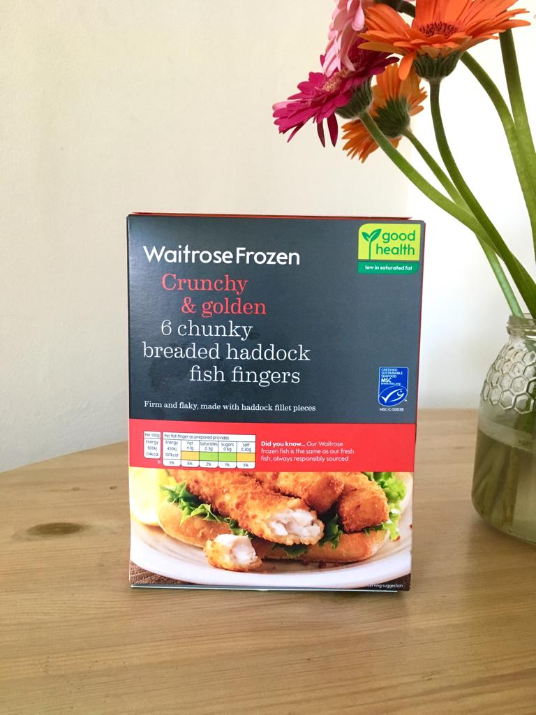 Waitrose Chunky Breaded Haddock Fish Fingers