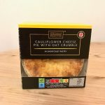 Aldi Specially Selected Cauliflower Pie with Oat Crumble