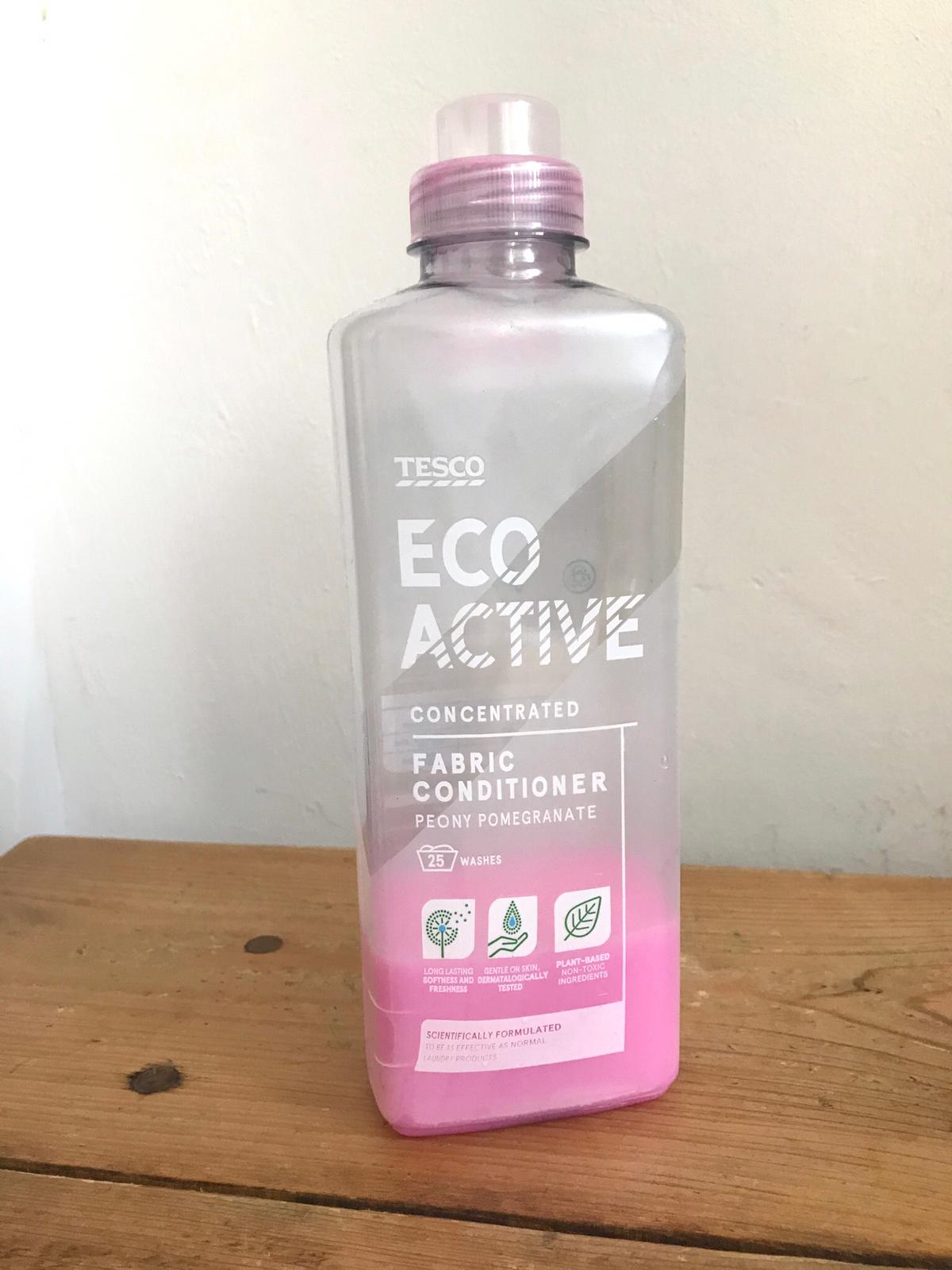 Tesco Eco Active Fabric Conditioner Review Friendly For The Environment But Not For Your Nose A Muslim Family Review Blog