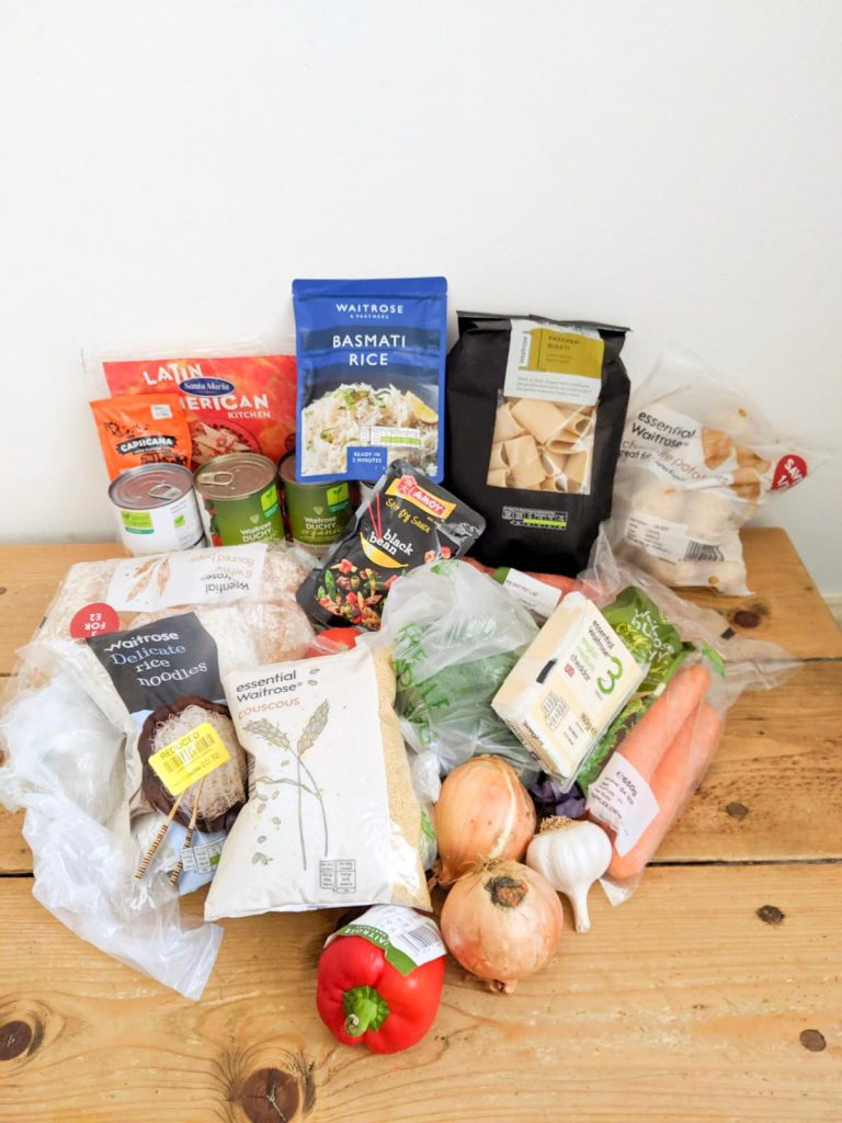 Waitrose_Shopping_Challenge