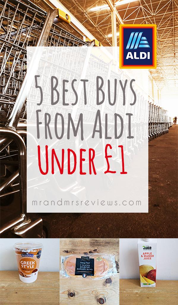 5 best buys from Aldi under £1