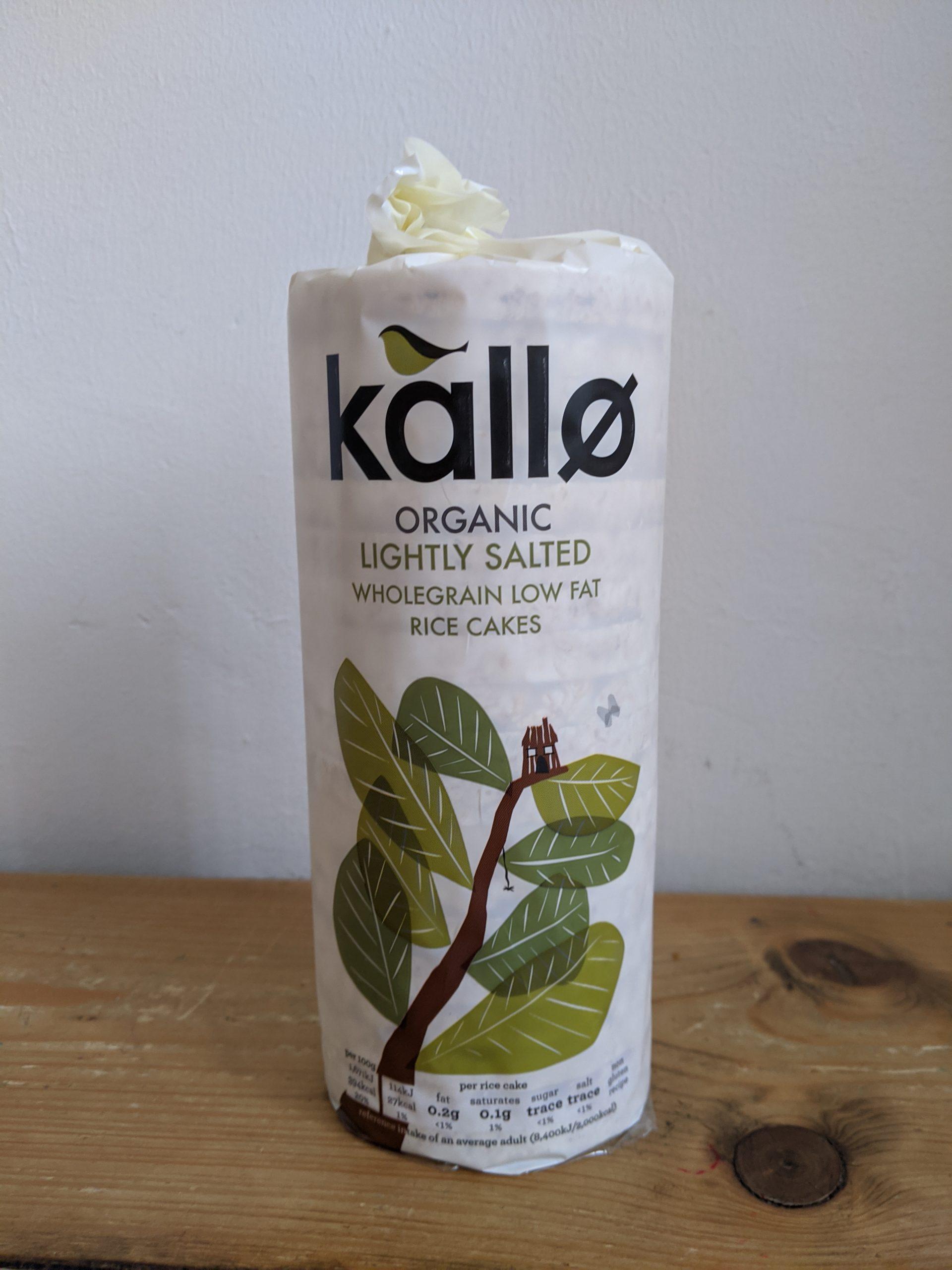 Kallo Organic Rice Cake